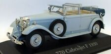 Atlas 1/43 Scale - IX46 Mercedes Benz 770 Cabriolet F 1930 grey