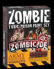 El pintor del Ejército Nuevo Y En Caja Zombicide tóxicos prisión Conjunto de Pintura de expansión