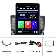 New listing Double 2DIN Car Stereo Radio 9.5in BT FM USB AUX MP5 Player+4LED Rear Camera Kit(Fits: Nissan)