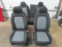 12- 15 CHEVY CAPTIVA Front Seat AR9 Black Grey Gray Cloth Set Rear Left Right