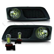 For 10-12 Subaru Legacy Fog Lights w/Wiring Kit & COB LED Bulbs - Clear