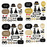 20pcs Happy Birthday Party Photo Booth Props Party Decor Selfie 30/40/50/60th