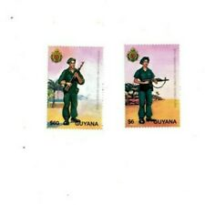 Guyana - 1995 - Defense Force - Set Of 2 Stamps - Mnh