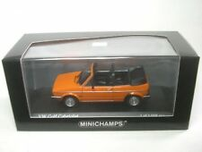 VW Golf I Cabriolet (mandarinorange)1980  1:43