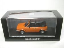 VW Golf I cabriolet (mandarinorange) 1980 1:43