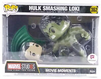 New Funko Pop Movie Moments Hulk Smashing Loki #362 Walgreens Exclusive In Hand