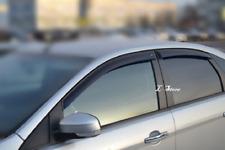 For Ford Focus Hatchback 2005-11 Window Visors Sun Rain Guard Vent Deflectors
