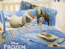 Disney Frozen Olaf Full Size 4 Pieces Sheet Set Cotton Rich NEW