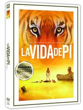 LA VIDA DE PI DVD NUEVO ( SIN ABRIR ) GANADORA 4 PREMIOS INCLUYENDO DIRECTOR