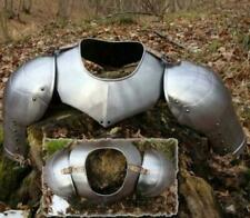 Gorget and Pauldrons Medieval Armour-Armor Reenactment Steel Pauldrons & Gorget