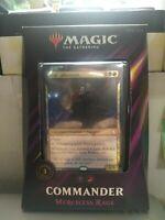 MTG MAGIC SEALED MERCILESS RAGE 2019 COMMANDER EDH  Sealed!