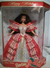 Mattel Barbie Doll Happy Holidays Special Edition Tenth Anniversary 1997