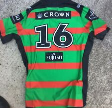 South Sydney Rabbitohs Player Cut Issue Home Jersey Xxl Gps 2018 Match Game