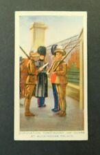 c1940 Hoadleys Trade Card Birth of a Nation #49 King George Coronation vgc