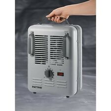Patton Portable Space Electric Heater Utility Milkhouse Room Garage Thermostat