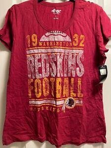 Washington Redskins Football Team Women's Shirt Size Large Brand New NWT 4Her