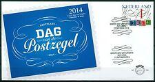 Nederland fdc 703  Dag van de postzegel 2014