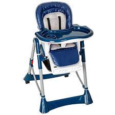 Chaise haute pliable pour Bébé Enfant PURE Confort bleu