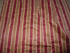 ancien tissu textile rideau ameublement soie rayure genre bayadere 215x129 A
