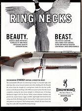 2006 BROWNING Cynergy Field & Classic Grade Over Under Shotgun AD Pheasant Art