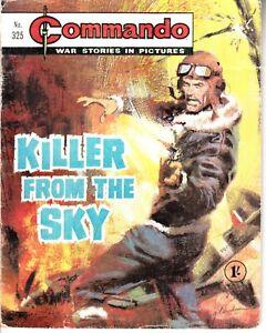 COMMANDO COMIC - No 325   KILLER FROM THE SKY