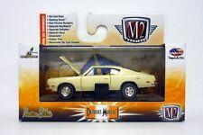 M2 Maschinen 1969 Plymouth Barracuda R25 Detroit-Muscle Druckguss limitiert 2014