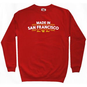 Made in San Francisco V2 Sweatshirt Crewneck - CA California 49ers 415 Men S-3XL