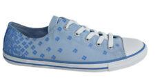Zapatillas deportivas de mujer planos Converse de lona