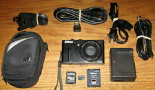 Nikon Coolpix P300 12.2 MP 10.0x Wide Optical Zoom UVGC Black Guarantee Bundled