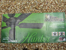 "New HUNTER 52"" Bronze CEILING FAN Five Minute Fan ( Covered Porch Series )"