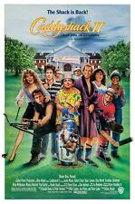 CADDYSHACK II (1988) ORIGINAL MOVIE POSTER  -  ROLLED