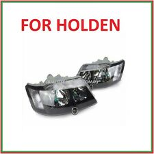 Headlights pair for Holden Commodore VY SS SV8 02-04