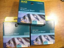 3 Rio Tropical OutBound Short fly fishing lines new in box - batch #25