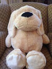 "Large Animal Adventure Golden Dog Puppy stuffed animal Soft plush. 30"""