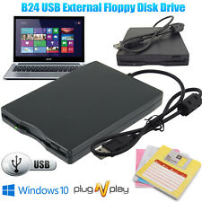 3.5 Inch External Floppy Disk Drive USB 2.0 Portable 1.44Mb Reader FDD PC Laptop