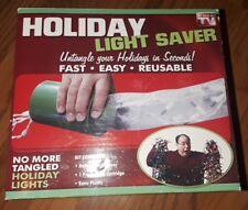 Holiday Light Saver Kit.  No More Tangled Christmas Lights Fast, easy, reusable