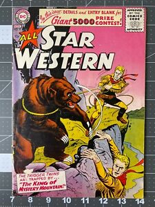 DC Comics All Star Western #91 FN Silver Age 1956 Trigger Twins Gil Kane Cover