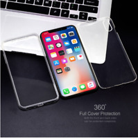 360 CLEAR Case For iPhone 7 Cover Silicone Shockproof