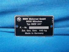 BMW Typenschild /7, 80T,100RS,100CS,100S