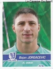 111 BOJAN JORGACEVIC SERBIA KAA.GENT STICKER FOOTBALL 2012 PANINI