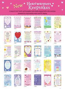 "Heartwarmers Credit Card Style Keepsake Card & Envelope 3.5"" x 2"""