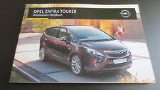 NEU!! Opel C Zafira Tourer Infotainment System Betriebsanleitung Navi / Radio