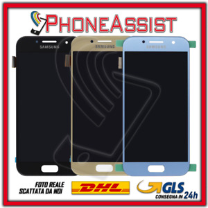 DISPLAY LCD TOUCH SCREEN PER Samsung Galaxy A3 2017 SM-A320F A320 SCHERMO VETRO