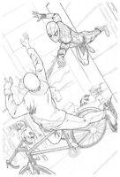 Spider-Man Homecoming Original Spider-Man Art SPLASH