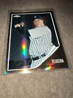 2011 Topps Chrome Mark Teixeira New York Yankees Vintage Refractor Card #C160 💎
