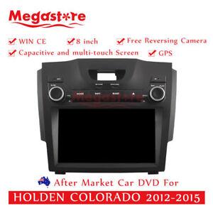 "8"" Car DVD GPS Navigation 2 din Head Unit Stereo For HOLDEN COLORADO 2012-2015"