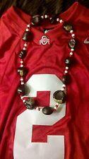 2 Ohio State Buckeye Necklaces OSU football