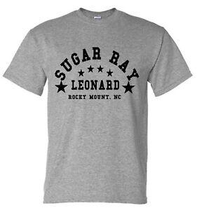 Sugar Ray Leonard Boxing Training Gym T-Shirt