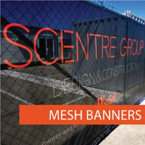 Mesh Construction Banner Signs 50 Meter Roll BANNERWORLD.COM.AU