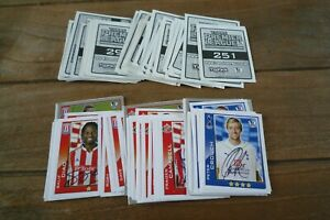Topps Premier League 2010 Football Stickers no's 251-462! Pick Your Stickers!
